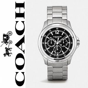 COACH BARROW STAINLESS STEEL MULTIFUNCTION